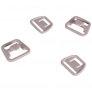 Beige Plastic Nursing Clips - 1/2 inch or 14mm