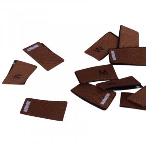 Brown Size Medium Tags - 100 pieces