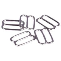 Silver Metal Alloy Slides - 1/2 inch or 13mm