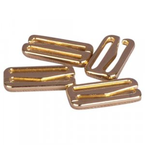 Gold Metal Alloy Slide Hooks - 3/4 inch or 19mm