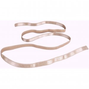 Tan Strap Elastic - 3/8 inch or 10mm
