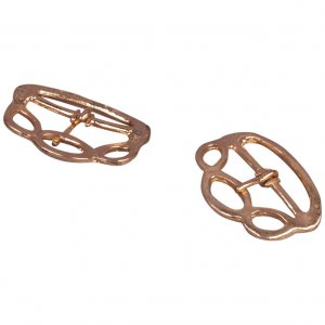 Gold/Brass Knotted Buckles - 28mm