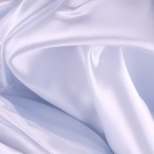 White Polyester Satin - 2 1/3 Yard