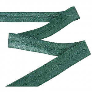 Green Fold Over Elastic - 5 Yards