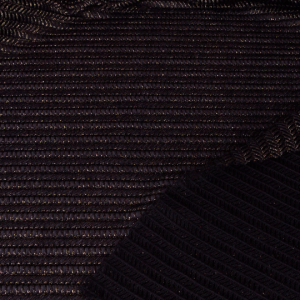 Black and Gold Jersey with Hole Texture - 54 inch wide - 2 Yard
