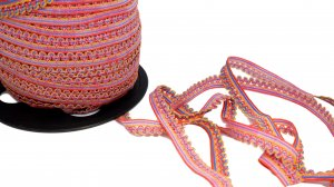 Rainbow Picot Edge Elastic - 5 Yards
