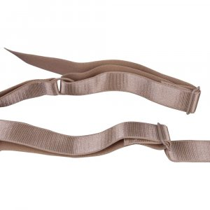 Tan Bra Straps - 3/4 inch or 18mm - 1 Pair