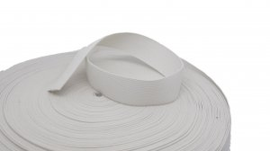 White Plain Elastic - 1 1/4 inch - 2 yards