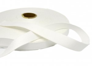 "White Non-Stretch Strapping - 18mm or 3/4"" Wide"