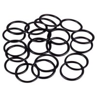 High Quality Black Metal Rings - 3/8 inch or 10mm