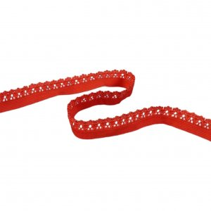 Orange Decorative Edge Elastic