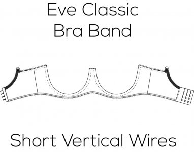 Eve Classic Bra Band for Short Vertical Wire