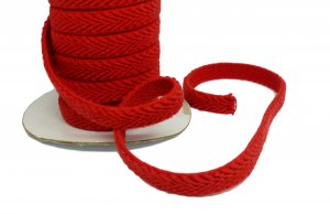 Red Belt Elastic - 1/2 inch - 2 yards