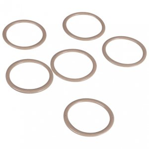 Tan Metal Rings - 3/4 inch or 18mm