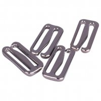 Silver Metal Alloy Slide Hooks - 3/4 inch or 19mm