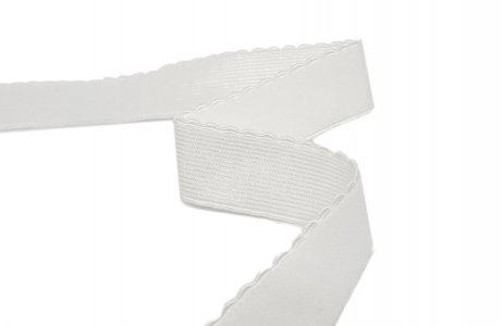 "White Strap or Waistband Elastic - 7/8"" Wide"