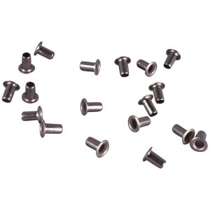 Silver Metal Rivets - 3mm