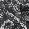 Black & White Lace Print Georgette - 60 inch wide - 2 Yard