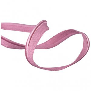 Rose Pink Piping Elastic