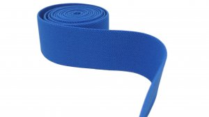 Carolina Blue Belt Elastic - 2 inch - 1 yard