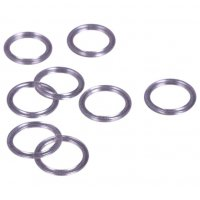 Quality Clear Plastic Rings - 1/2 inch or 13mm