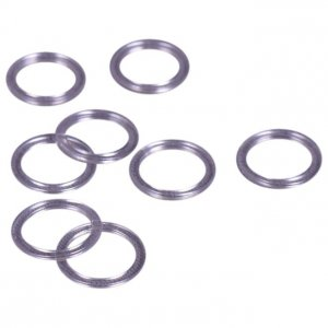 Clear Plastic Rings - 1/2 inch or 13mm