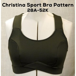 Christina Sports Bra Pattern