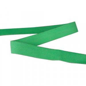 Green Plain Elastic - 3/4 inch