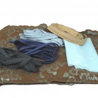 Brown and Blue Lace Kit for Rachel Tank