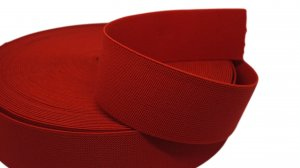 Red Belt Elastic - 2 inch - 1 yard
