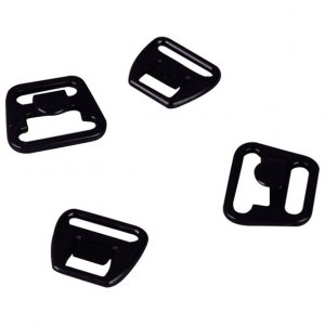 Black Plastic Nursing Clips - 1/2 inch or 14mm