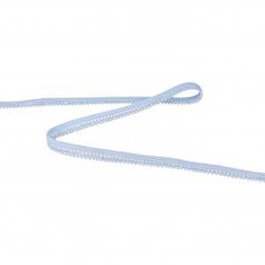 Light Blue Picot - 5 Yards