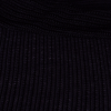 Black Jersey with Hole Texture - 54 inch wide - 2 Yard