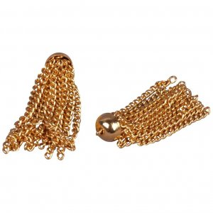 Gold Metal Tassels