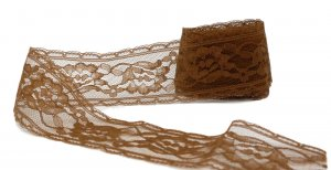 "Light Brown Vintage Lace - 1 3/4"" Wide - 1 1/4 Yards"