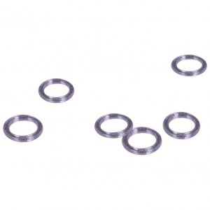 Clear Plastic Rings - 1/4 inch or 7mm