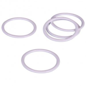 White Metal Rings - 3/4 inch or 18mm