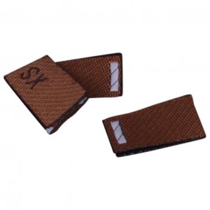 Brown Size XS Tags - 100 pieces