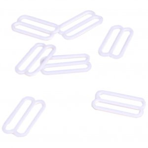 White Metal Slides - 7/8 inch or 22mm