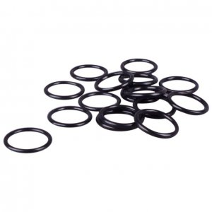 Black Plastic Rings - 1/2 inch or 13mm