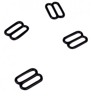 Black Plastic Slides - 1/2 inch or 13mm