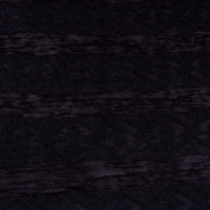Black Tissue and Lace Knit - 60 inch wide - 2 Yard
