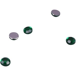 Green Rhinestones - 4mm