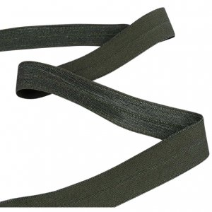 Army Green Fold Over Elastic - 5 Yards