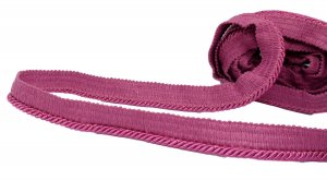 "Magenta Cording and Trim - 1"" Wide - 4 Yards"
