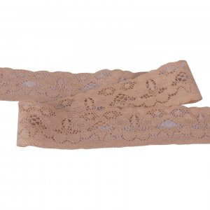 Tan Stretch Lace - 1 inch - 5 Yards