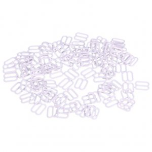 White Metal Slides - 3/8 inch or 10mm