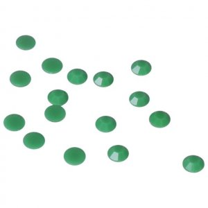 Green Glass Stone - 5mm