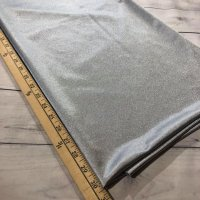 "Silver Dazzle Polyester Tricot - 60"" Wide - 1 Yard"