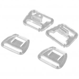 Clear Plastic Nursing Clips - 1/2 inch or 14mm - 1 Set